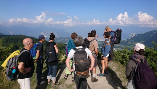 Hiking in the Vercors – Artistic Scientific and Earth Education